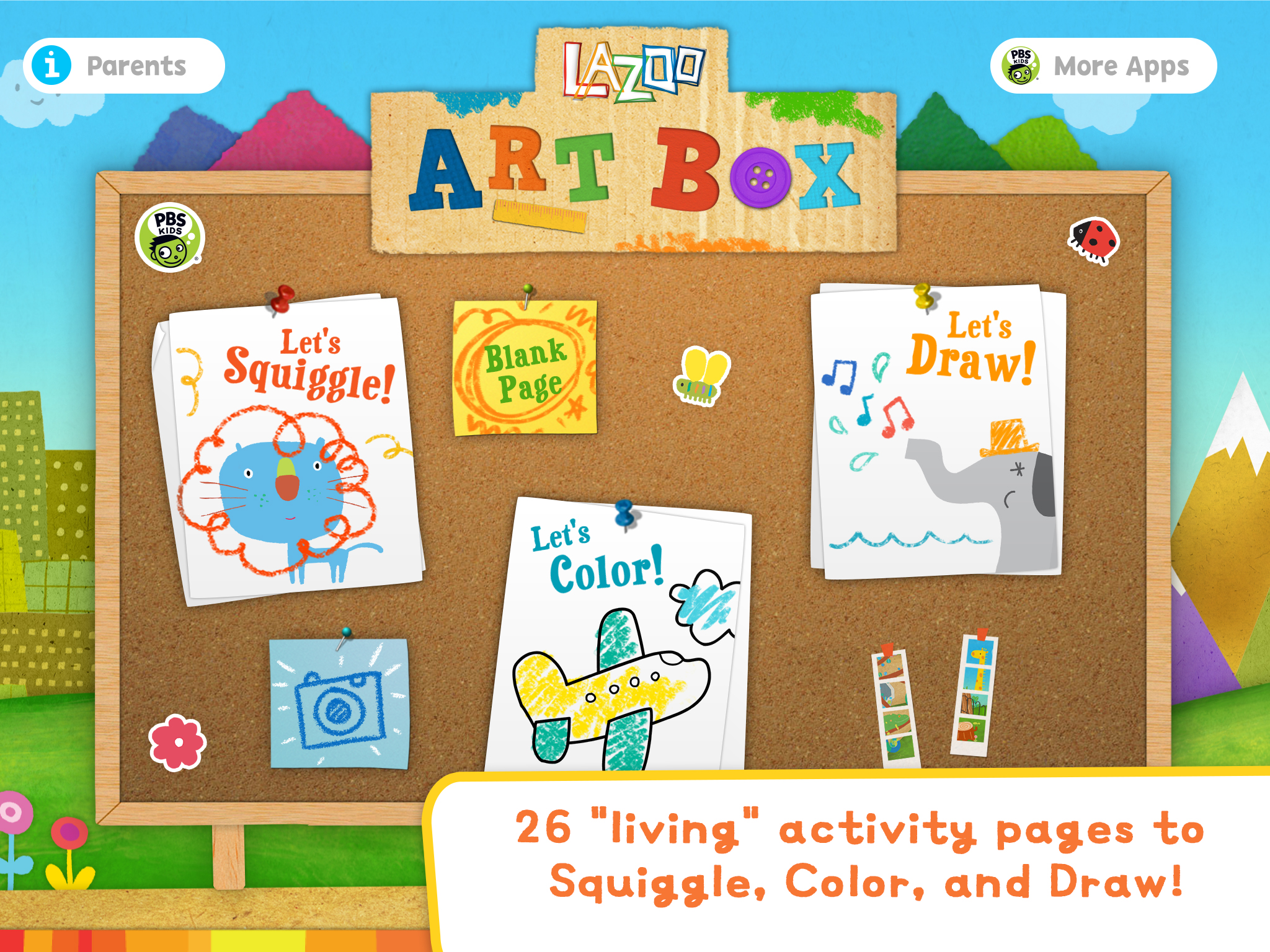 Lazoo Art Box Screenshot